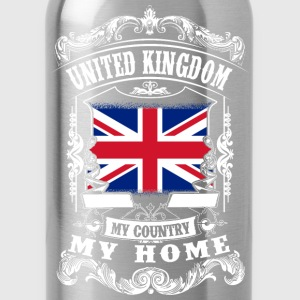United Kingdom - My country - My home T-Shirts - Trinkflasche