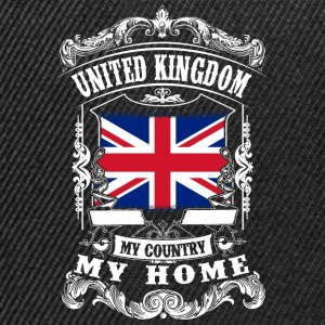United Kingdom - My country - My home T-Shirts - Snapback Cap