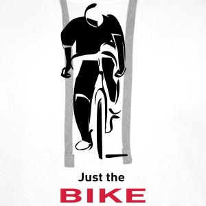 juste_the_bike_ii Tee shirts - Sweat-shirt à capuche Premium pour hommes