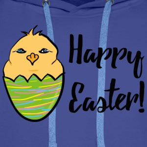 Kücken_Happy Easter T-Shirts - Men's Premium Hoodie