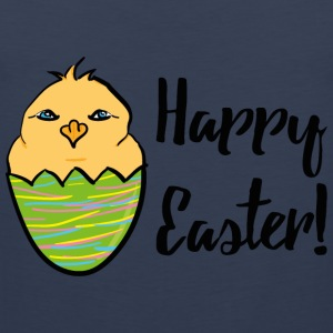 Kücken_Happy Easter T-Shirts - Men's Premium Tank Top