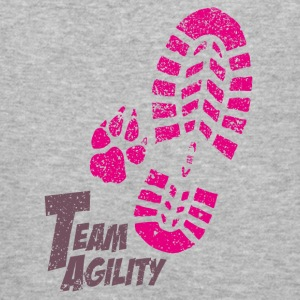 Team Agility pink Sweat-shirts - Tee shirt près du corps Homme