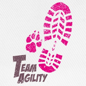 Team Agility pink T-shirts - Basebollkeps