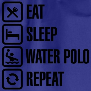 Eat Sleep Water Polo Repeat T-shirts - Gymtas