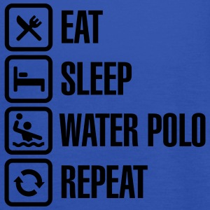 Eat Sleep Water Polo Repeat Tee shirts - Débardeur Femme marque Bella