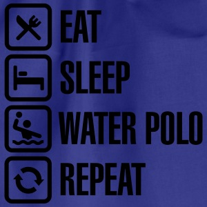 Eat Sleep Water Polo Repeat Magliette - Sacca sportiva