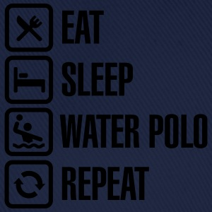 Eat Sleep Water Polo Repeat Tee shirts - Casquette classique