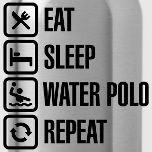 Eat Sleep Water Polo Repeat Camisetas - Cantimplora