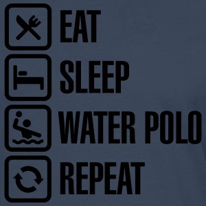 Eat Sleep Water Polo Repeat T-shirts - Långärmad premium-T-shirt herr