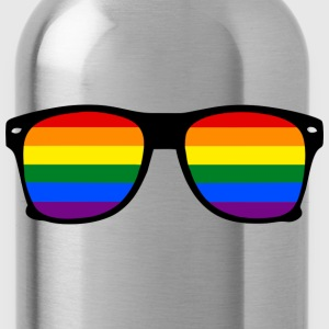 Rainbow glasses Gay pride t-shirt  - Trinkflasche