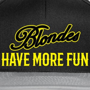 Blondes Have More Fun 3 - Snapback Cap