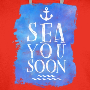SEA YOU SOON Mugs & Drinkware - Men's Premium Hoodie