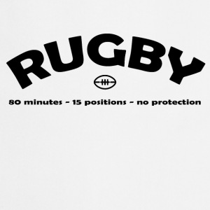 Rugby Positions T-Shirts - Cooking Apron