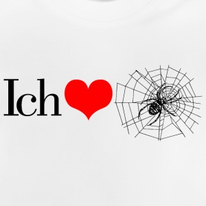 II love spiders Shirts - Baby T-Shirt