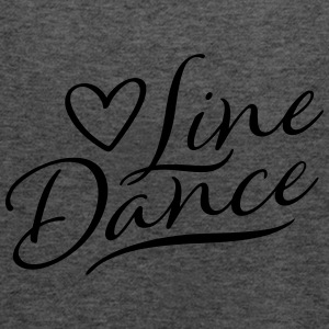 LOVE LINE DANCE T-shirts - Vrouwen tank top van Bella