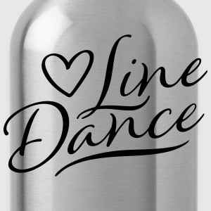 LOVE LINE DANCE T-shirts - Drinkfles