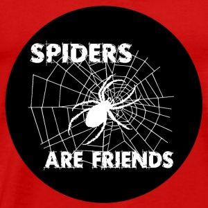 spiders are friends Tops - Men's Premium T-Shirt