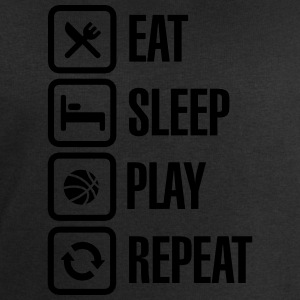 Eat Sleep Basketball Repeat Tee shirts - Sweat-shirt Homme Stanley & Stella