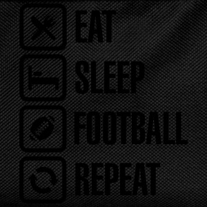 Eat Sleep American Football Repeat Tee shirts - Sac à dos Enfant