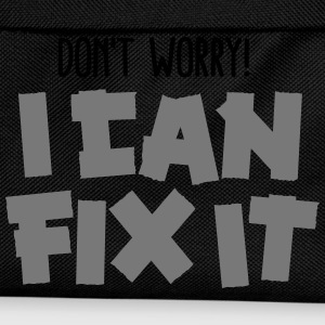 Don't worry! I can fix it - Duct tape T-shirts - Rygsæk til børn