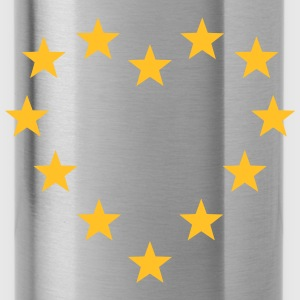 EU stars heart, Europe, flag, european union Bags & Backpacks - Water Bottle