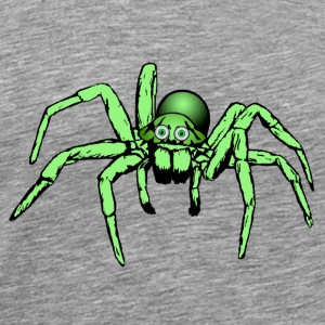 green spider Tops - Men's Premium T-Shirt