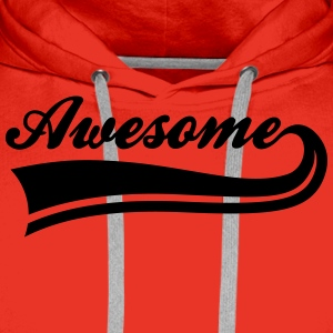 awesome T-Shirts - Men's Premium Hoodie