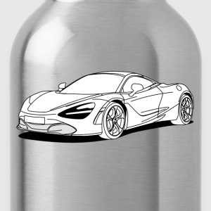 720s Coupe White T-Shirts - Water Bottle