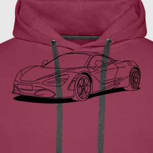 720s outline T-Shirts - Men's Premium Hoodie