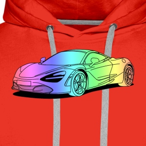 720s Coupe colourful Shirts - Men's Premium Hoodie
