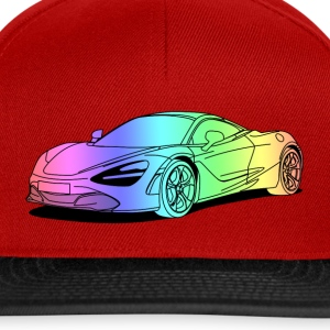 720s Coupe colourful Shirts - Snapback Cap