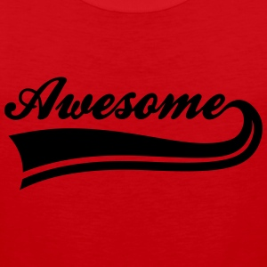 awesome T-Shirts - Männer Premium Tank Top