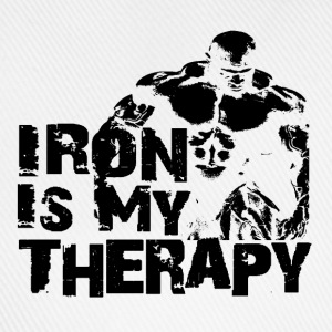 Iron is my therapy Tee shirts - Casquette classique