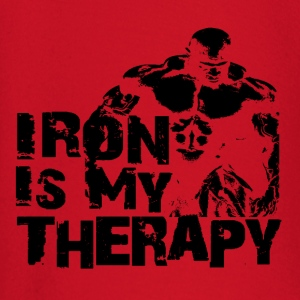 Iron is my therapy Tee shirts - T-shirt manches longues Bébé