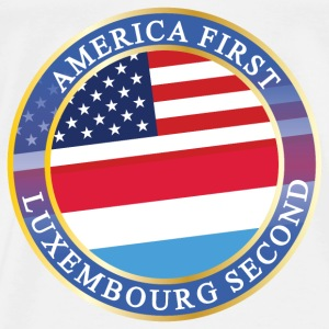 AMERICA FIRST LUXEMBOURG SECOND Baby Bodys - Männer Premium T-Shirt