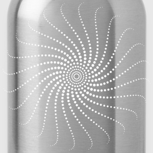 Spiral, psychedelic, trance, goa, house, rave, om, T-Shirts - Water Bottle