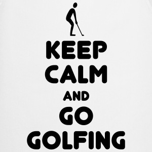 Keep calm go golfing sweaters & hoodies - Cooking Apron