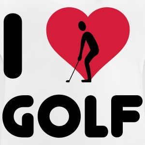 I love Golf Langarmshirts - Baby T-Shirt