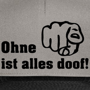 ohne dich T-Shirts - Snapback Cap