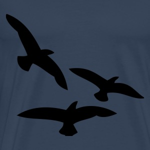 Birds long sleeve shirts - Men's Premium T-Shirt
