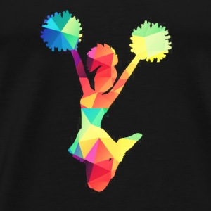Colorful Chearleader sportswear - Men's Premium T-Shirt