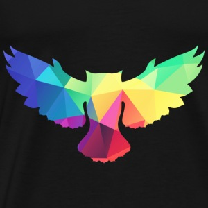 Colorful OWL tops - Men's Premium T-Shirt