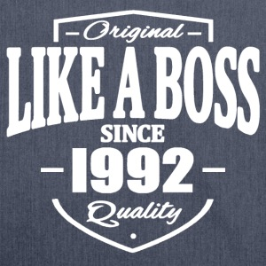 Like A Boss Since 1992 T-Shirts - Schultertasche aus Recycling-Material