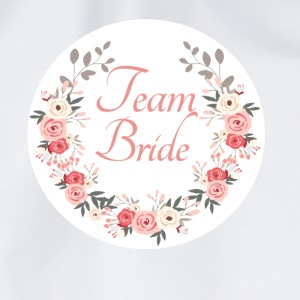 team_bride_rose_wreath T-skjorter - Gymbag