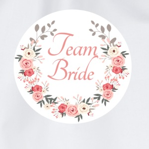 team_bride_rose_wreath T-shirts - Gymtas
