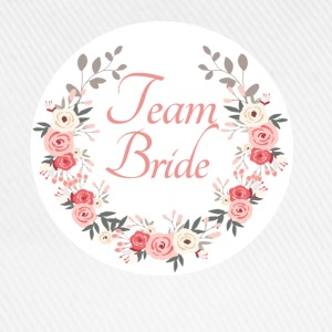 team_bride_rose_wreath T-shirts - Baseballcap
