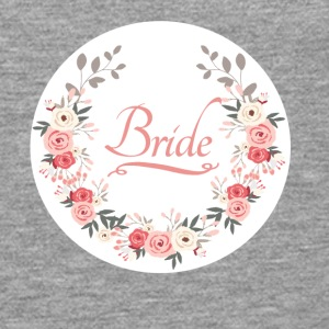 bride_rose_wreath T-shirts - Mannen Premium shirt met lange mouwen