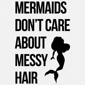 Mermaids Messy Hair Funny Quote Handy & Tablet Hüllen - Männer Premium T-Shirt