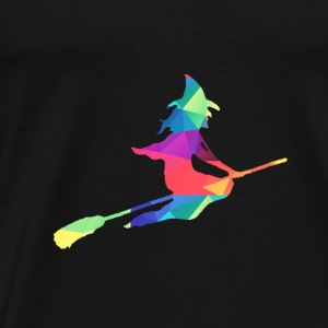 Colorful witch tops - Men's Premium T-Shirt