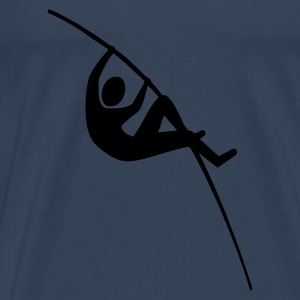 Pole vault of long sleeve shirts - Men's Premium T-Shirt